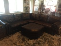 Large Leather Sectional Couch in Houston, Texas