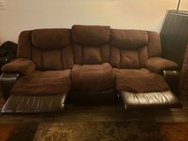 double recliner sofa in Fairfax, Virginia