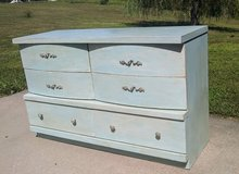 Light Blue Gray Chalk Painted Dresser in Fort Leonard Wood, Missouri