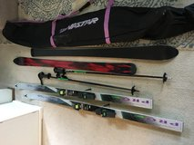 Skis, poles and bag in Tacoma, Washington