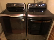 LG Washer & Dryer Still Brand New in Fairfield, California