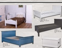 United Furniture - Full Size Beds - Solid Wood - all colors - with Optimum Mattress and delivery in Wiesbaden, GE