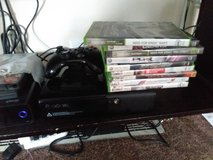 Xbox 360 Slim E With External Drive and Games in Westmont, Illinois
