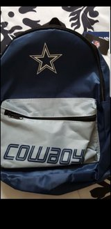 NFL Dallas Cowboys Backpack for Kids'New in Travis AFB, California