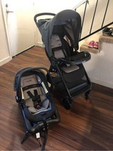 car seat, Base, stroller in Travis AFB, California