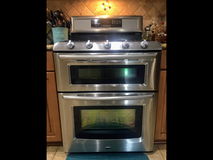 Maytag double oven,fridge and over stove microwave set in Lockport, Illinois