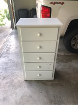 "24""x44""x16"" White 5 drawer Dresser in Fort Leonard Wood, Missouri"