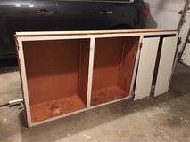 Large 6 door solid wood cabinet in Lockport, Illinois
