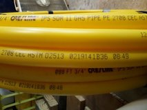 "New 3/4"" x 125 ft IPS SDR11 Yellow Gas Poly Pipe in Spring, Texas"
