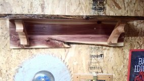 Homemade Cedar Shelf in Fort Leonard Wood, Missouri