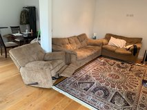 Three couch set in Lakenheath, UK