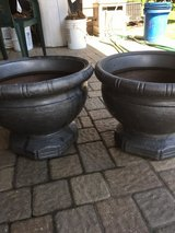 MATCHING GRECIAN FLOWER POTS in Bolingbrook, Illinois