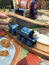 Thomas the Train with coal car in Lockport, Illinois