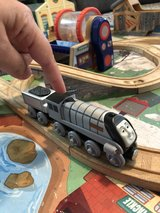 Talking Spencer Train car with coal car (from Thomas the Train set) in Lockport, Illinois