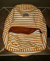 Vans Gold Striped Backpack in Fairfield, California