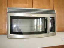 Stainless Steel Over the Range Microwave in St. Charles, Illinois