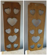 Solid Wood HEART Wall Hanging in Fairfield, California