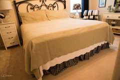 King Size Bedspread and Pillow Shams in The Woodlands, Texas
