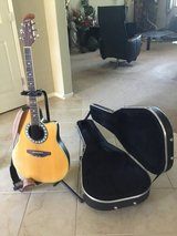 Acoustic / Electric Guitar w/ Hard Case in Fairfield, California
