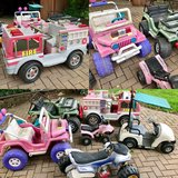 6 Power Wheels battery operated cars for kids in St. Charles, Illinois
