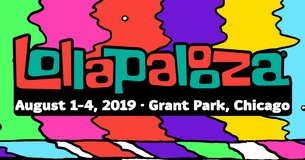 Lalapalooza 4- day passes in Naperville, Illinois