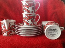 Keith Haring China Coffee Set in Stuttgart, GE