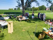 Garage sale in Fort Campbell, Kentucky