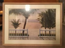 Framed Palm Tree Picture in Orland Park, Illinois