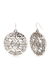 CLEARANCE ***BRAND NEW***Round Large Disc Filligree Drop Earrings*** in Houston, Texas