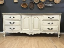 French Provincial Dresser buffet entertainment center Farmhouse Coastal Shabby in Fort Leonard Wood, Missouri