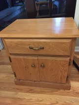 Solid wood night stand in Plainfield, Illinois