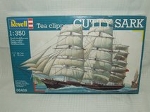 Revell Cutty Sark Tea Clipper Sailing Ship 1:350 Scale Model Kit # 05409 NEW in Aurora, Illinois