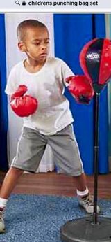 CLEARANCE ***BRAND NEW***Kids Punching Bag Set*** in Cleveland, Texas