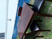 Dining table with chairs in Fort Campbell, Kentucky