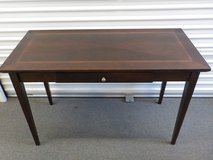 """Writing Table..24""""x 48"""" Cherry and Mahogany inlaid top in The Woodlands, Texas"""
