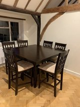 Dining room table in Lakenheath, UK