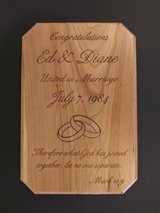 Custom Laser Engraved Plaques in Chicago, Illinois
