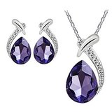 CLEARANCE***BRAND NEW***BEAUTIFUL Purple Pendant & Earring Set*** in Cleveland, Texas