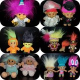 Vintage Troll Doll collection in Plainfield, Illinois