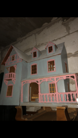 Wooden Doll House in Orland Park, Illinois