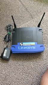 Linksys Wireless G 2.4 GHz Broadband router in Plainfield, Illinois