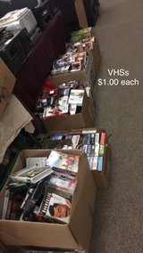 VHSs Tapes in Fort Leonard Wood, Missouri