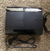 PS3 250GB with controllers in Plainfield, Illinois
