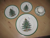 SPODE Christmas China (Made in England) in Ramstein, Germany