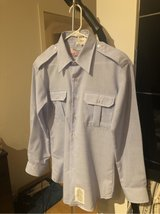 Mens Blues Shirt size 16.5x33 (Califashions) (New,but no more tags) in Ramstein, Germany