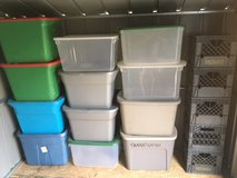 ***** STORAGE TOTES and MILK CRATES ***** in Fort Lewis, Washington