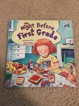 The Night Before First Grade book in Camp Lejeune, North Carolina