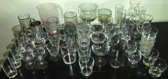 STOCK THE BAR! 53pc Beer Mugs Pitcher Wine + Assorted Barware Glasses in Chicago, Illinois
