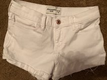 Abercrombie Kids shorts size 13/14 - perfect condition White blue jean in The Woodlands, Texas