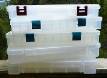 Large Divided Storage Boxes - Tackle, Beads, Screws & Nails in Alamogordo, New Mexico